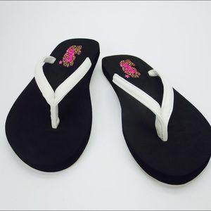 New Cushion yoga foam soft sole flatform flip flop