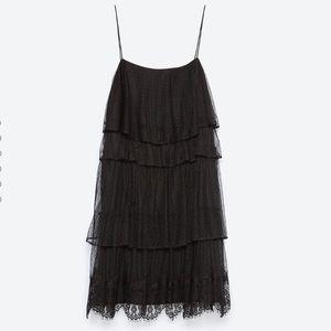 SALE Zara Ruffle Dress