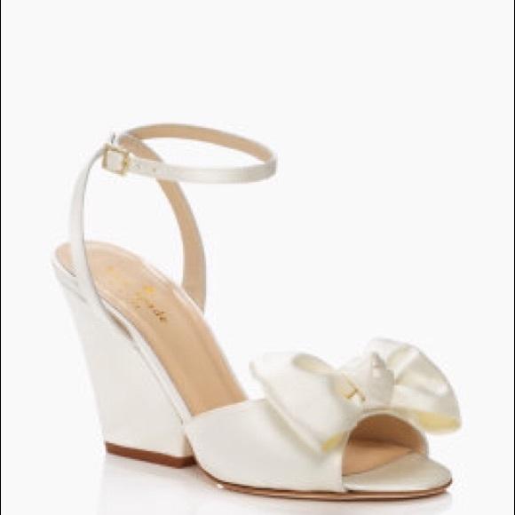 72b6960873 kate spade Shoes | Wedding Wedges Iberis | Poshmark