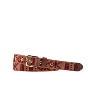 J.Crew Embroidered Belt