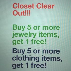 Other - Closet clear out!!!