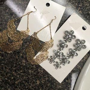 H&M Jewelry - H&M earring bundle.