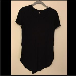 Black top with side slits