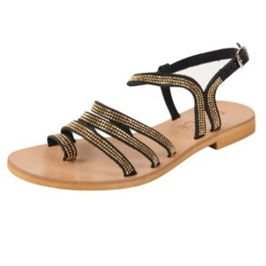 Cocobelle Shoes - L space by Cocobelle Black Sicily Sandal