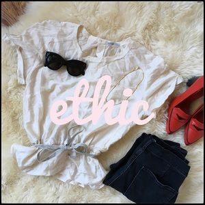 Ethic Silk Poplin Top