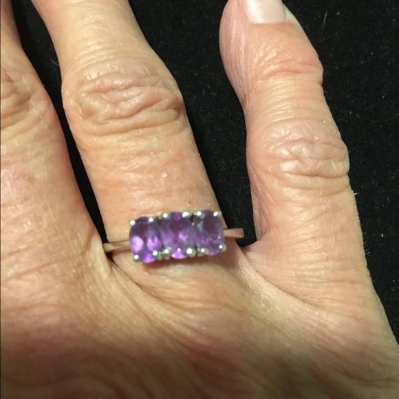 Tggc Jewelry 925 Silver Amethyst Ring Poshmark