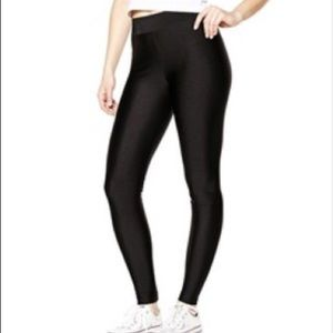 cfc12c09bf2dc Garage Pants   Shiny Black High Waist Disco Leggings   Poshmark