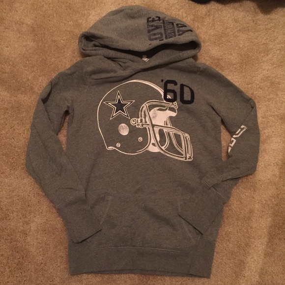 VS Pink Grey Navy Dallas Cowboys Hoodie Size M. M 56c7f5a24e8d178364015a5e 47e7938cb