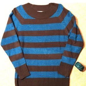 NWOT Jon & Anna Shimmer Tunic Sweater