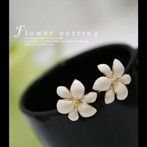 Fashion Jewelry - Beautiful Flower Earrings.