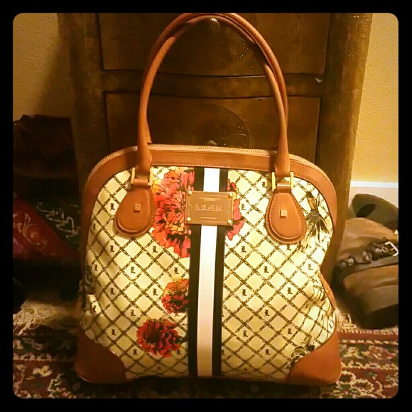 793ae8662d6b L.A.M.B. Handbags - L.a.m.b marigold bowler Collection!
