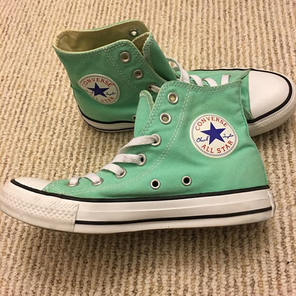 Converse Shoes - Tiffany blue   sea foam converse all star high top 7c483bf9d