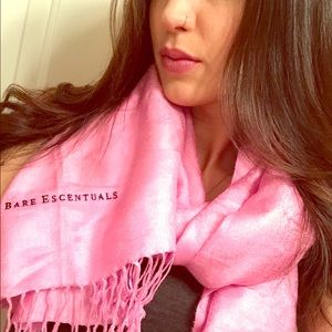 Bare Escentuals Other - Pashmina | Scarf Pink Bare Escentuals Branded