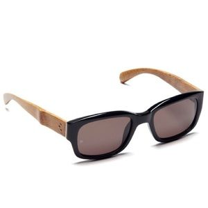 Linda Farrow Accessories - NEW! Linda Farrow Luxe Rectangular Wood Sunglasses