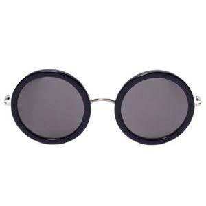 The Row Accessories - NEW! Linda Farrow x The Row Sunglasses (Navy)
