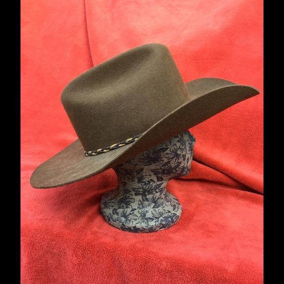 96fc91688 STETSON Stallion cowboy/western/rodeo HAT . 7 5/8