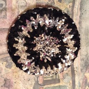 Route 66 Accessories - Sequined tam NWOT