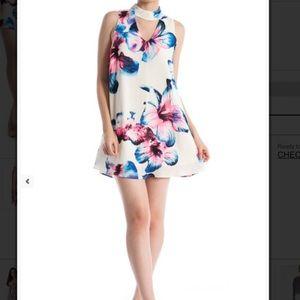 ❗️Floral Trapeze Tunic Slip Dress