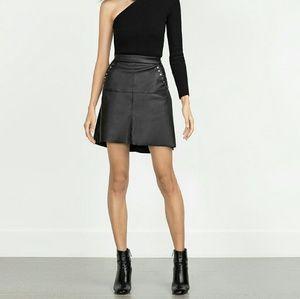 Zara faux leather skirt (1680)
