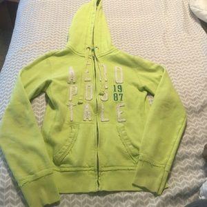 Sz s Aeropostale zip up jacket