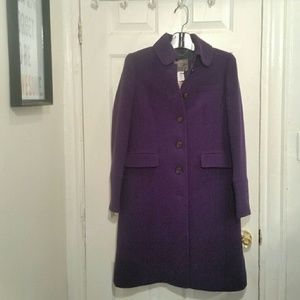 NWT J. Crew Double-cloth Metro Coat w/ Thinsulate