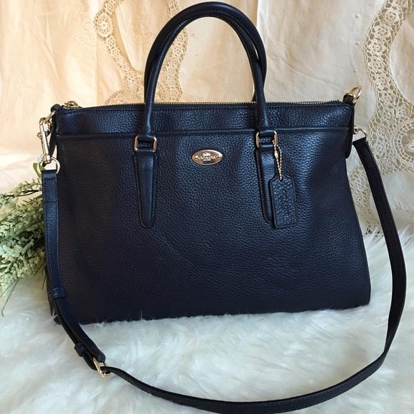 eea9b0ce3f0a New Coach dark blue handbag