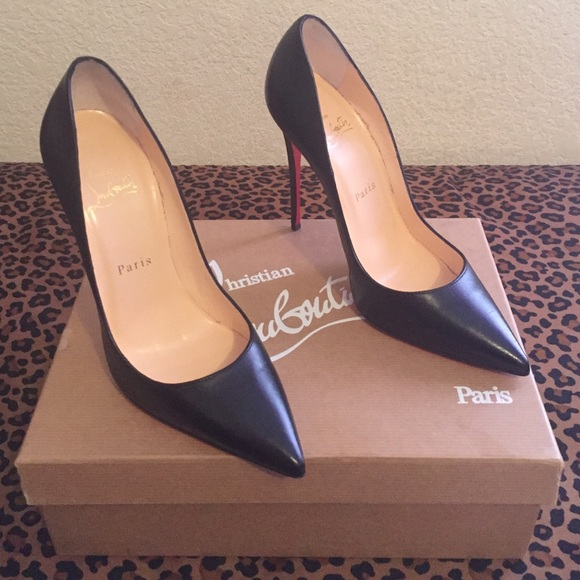 purchase cheap aba07 055af Louboutin Apostrophy 100 K 100mm