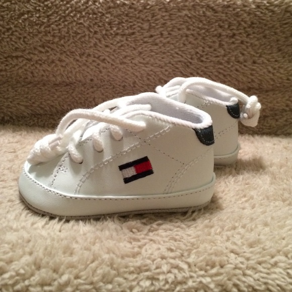 new products crazy price latest fashion Tommy Hilfiger Shoes | White Leather Infant | Poshmark