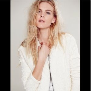 Free People textured jacket retail $168 S NWOT