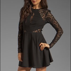 Keepsake Black Lace Dress