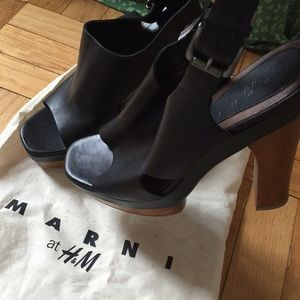 Marni Shoes - MarnixHM • Platform Colorblock Sandals