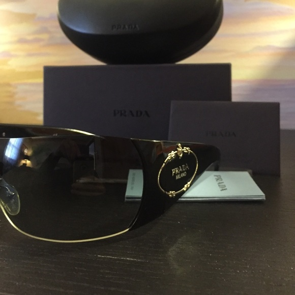 82ed649fc1 Prada Milano shield sunglasses SPR 16H
