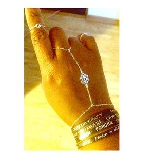 Heather Gardner Jewelry - Goddess  Hand Chain