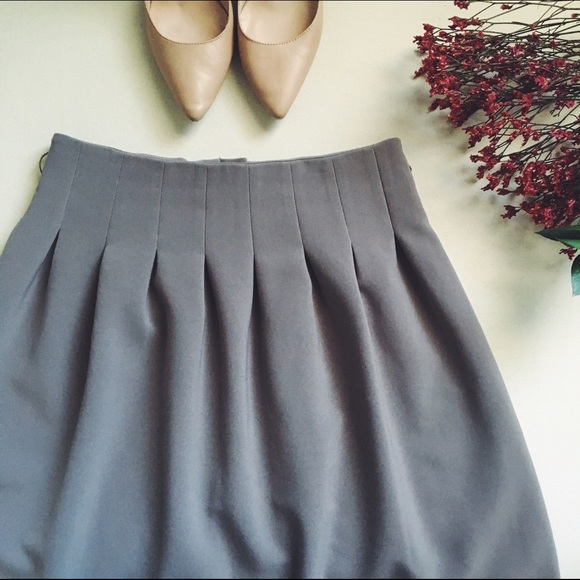 h m h m a line skirt from s closet on poshmark