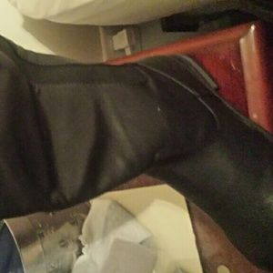 Torrid black motorcycle boots