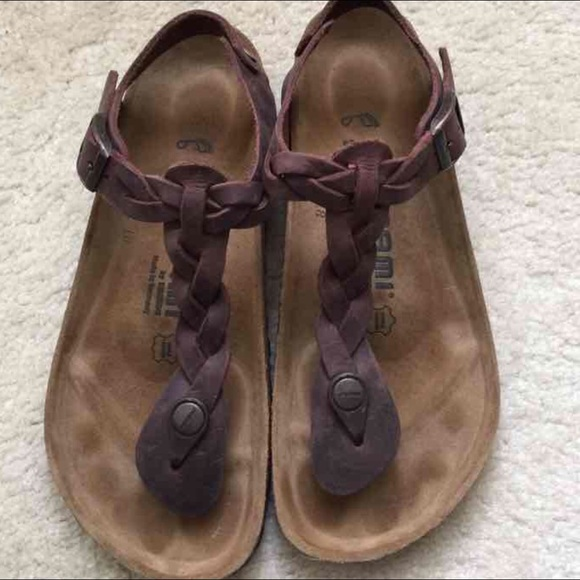 Birkenstock Tatami Kairo Havana brown leather. 37