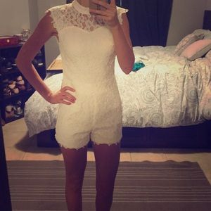 Forever 21 Other - Adorable Wrap Around Neck Open Back Romper