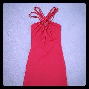 motivi Dresses & Skirts - Motivi coral dress xs