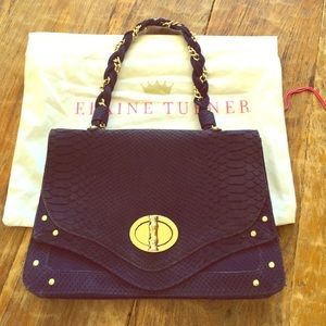 Elaine Turner Handbags - Deep Blue Elaine Turner Bag