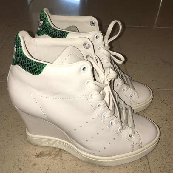 Adidas Stan Smith limited edition wedge sneakers