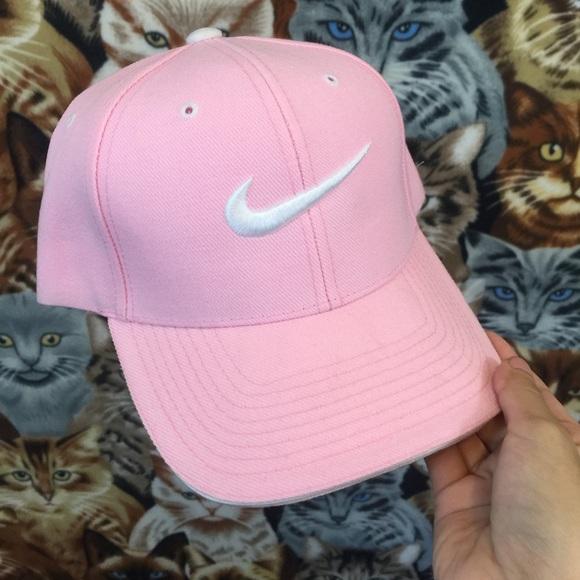 ... low cost pastel pink nike logo cap 6e8f7 950bb ed98d33991a