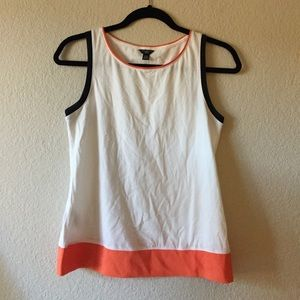 Ann Taylor color block tank