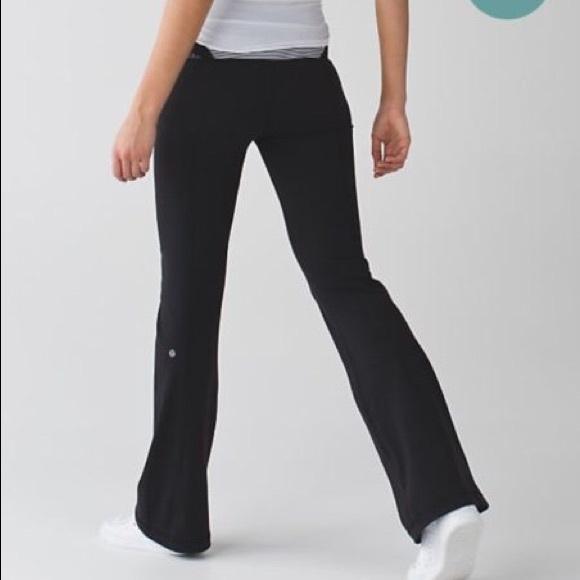 81b86b3e0d lululemon athletica Pants - Lululemon Groove Pant III, Full-On Luon Pant
