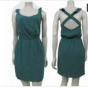 Bcbgeneration green sz L spring dress