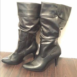 Black women's boots