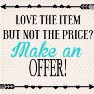 Other - Love the item? Make me an offer!