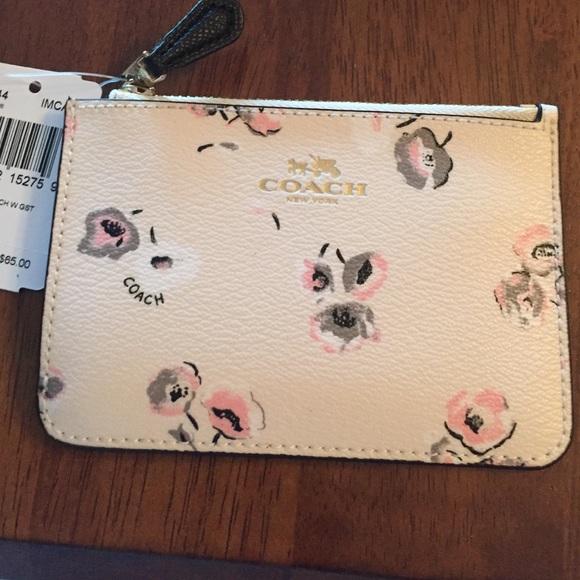 Coach handbag wallet key coachwholesale coach key pouch floral mightylinksfo