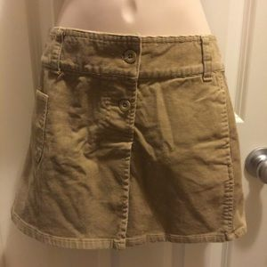 Old Navy corduroy mini skirts size 6