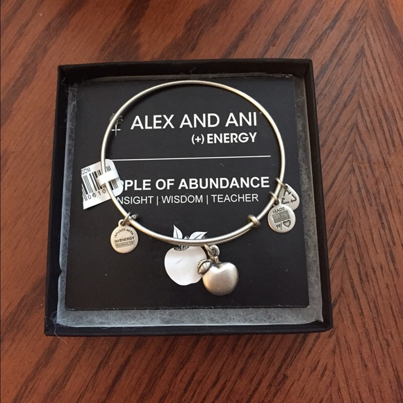 04beb2e728a0d Alex and Ani Apple of Abundance Teacher Bracelet NWT