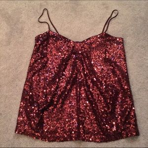 Moda International Tops - Victoria's Secret sequin bow detail camisole - S